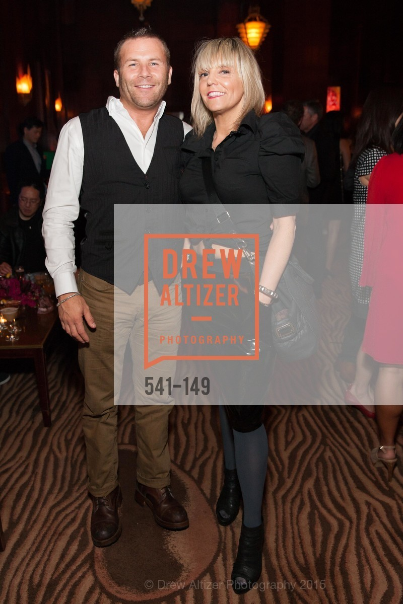 Karl Doyle, Gigi Ferrozzo, CLIFT San Francisco Celebrates 100 Years, Clift Hotel, Redwood Room and Velvet. 495 Geary St, June 3rd, 2015,Drew Altizer, Drew Altizer Photography, full-service agency, private events, San Francisco photographer, photographer california