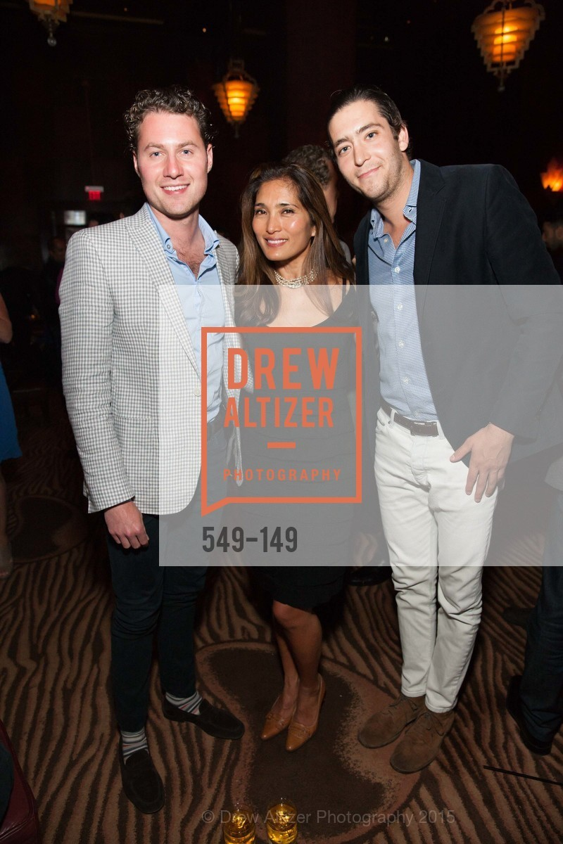 Alex Stix-Brunell, Maria Hilario Fender, Miles Garrigues, CLIFT San Francisco Celebrates 100 Years, Clift Hotel, Redwood Room and Velvet. 495 Geary St, June 3rd, 2015,Drew Altizer, Drew Altizer Photography, full-service agency, private events, San Francisco photographer, photographer california