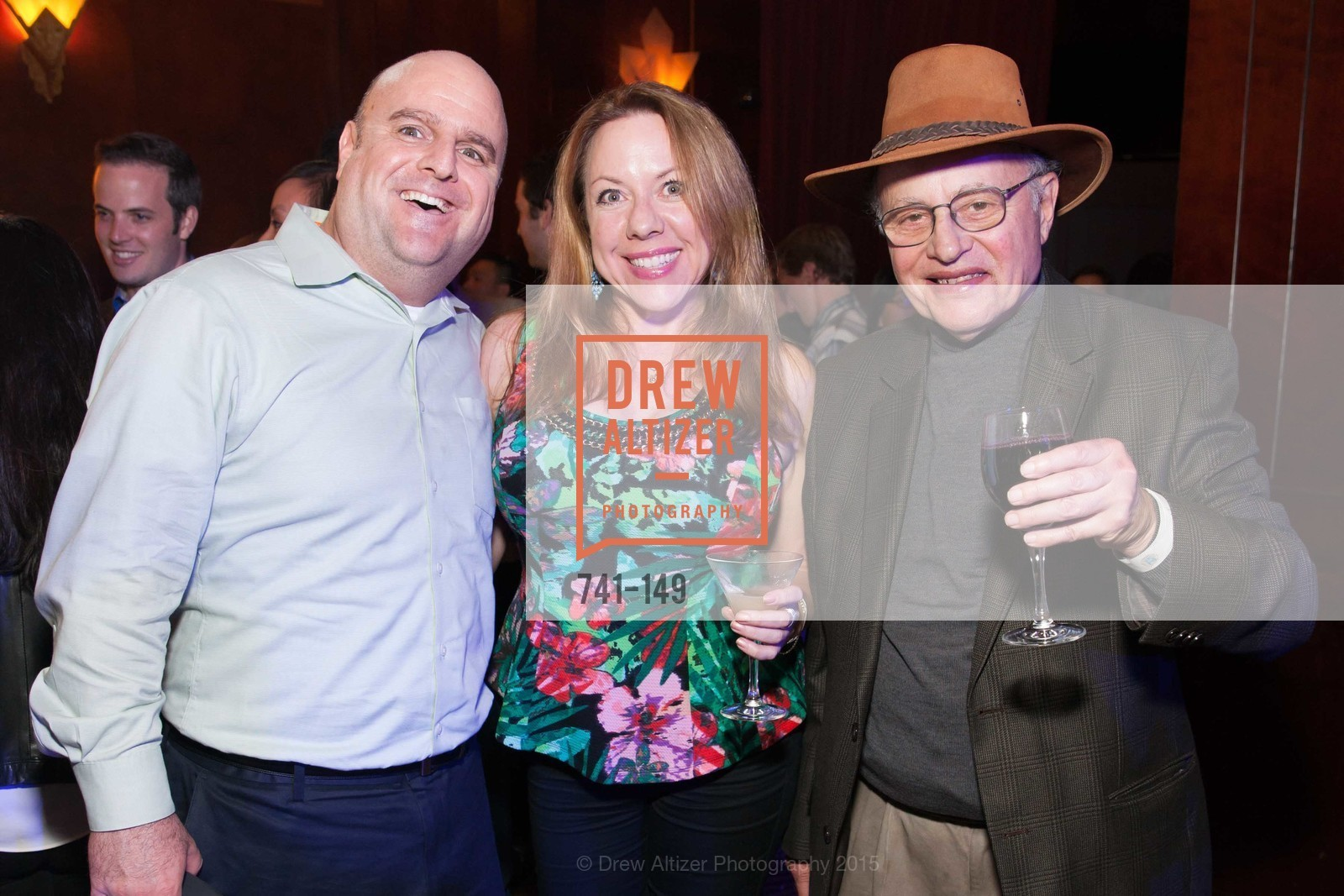 Steve Matulis, Therese Williams, Jack Allen, CLIFT San Francisco Celebrates 100 Years, Clift Hotel, Redwood Room and Velvet. 495 Geary St, June 3rd, 2015,Drew Altizer, Drew Altizer Photography, full-service agency, private events, San Francisco photographer, photographer california