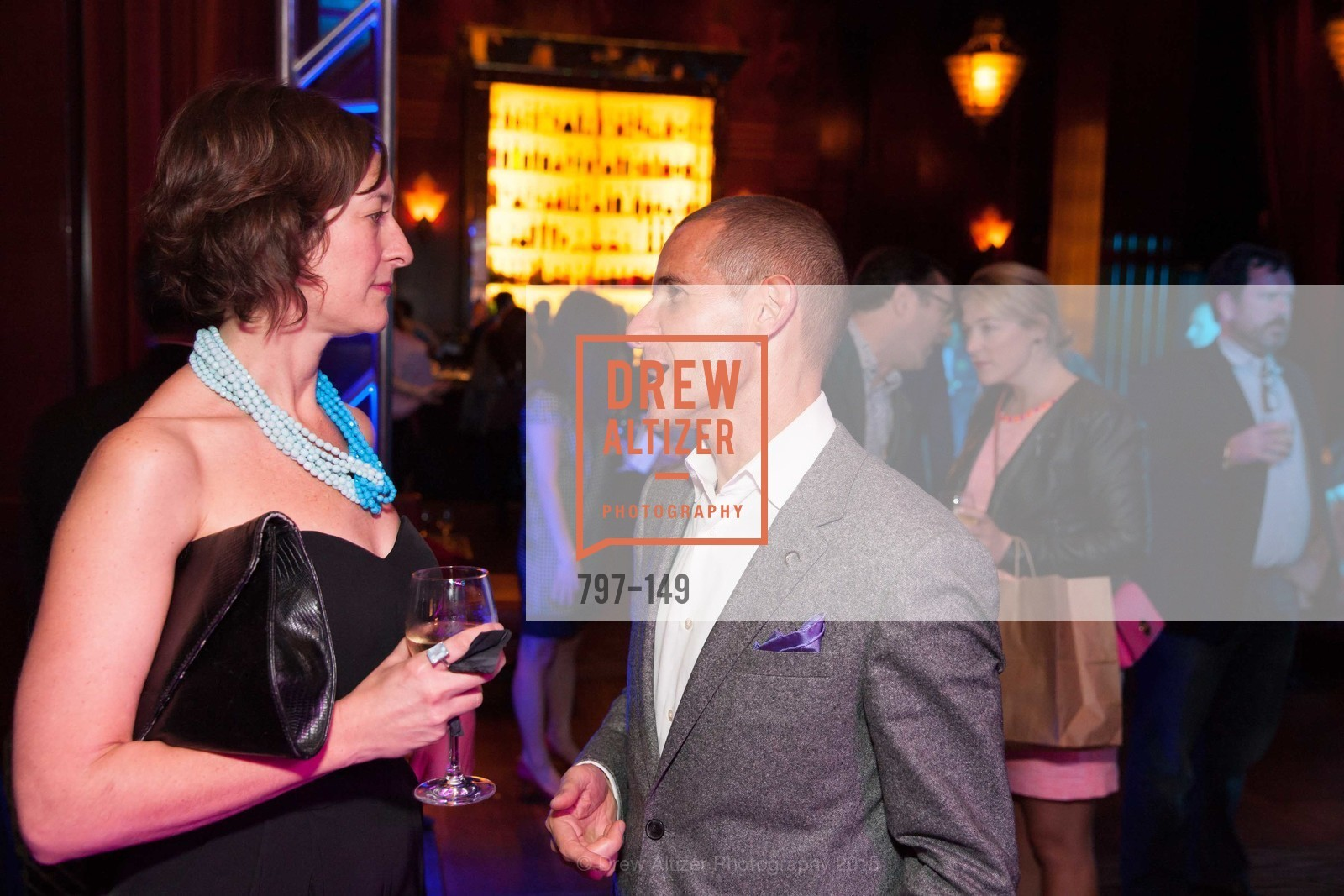 Juliana Cochnar, Michael Pace, CLIFT San Francisco Celebrates 100 Years, Clift Hotel, Redwood Room and Velvet. 495 Geary St, June 3rd, 2015,Drew Altizer, Drew Altizer Photography, full-service agency, private events, San Francisco photographer, photographer california