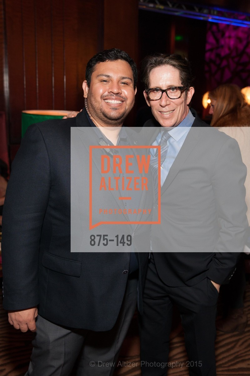 Luis Acevedo, Al Smyth, CLIFT San Francisco Celebrates 100 Years, Clift Hotel, Redwood Room and Velvet. 495 Geary St, June 3rd, 2015,Drew Altizer, Drew Altizer Photography, full-service agency, private events, San Francisco photographer, photographer california