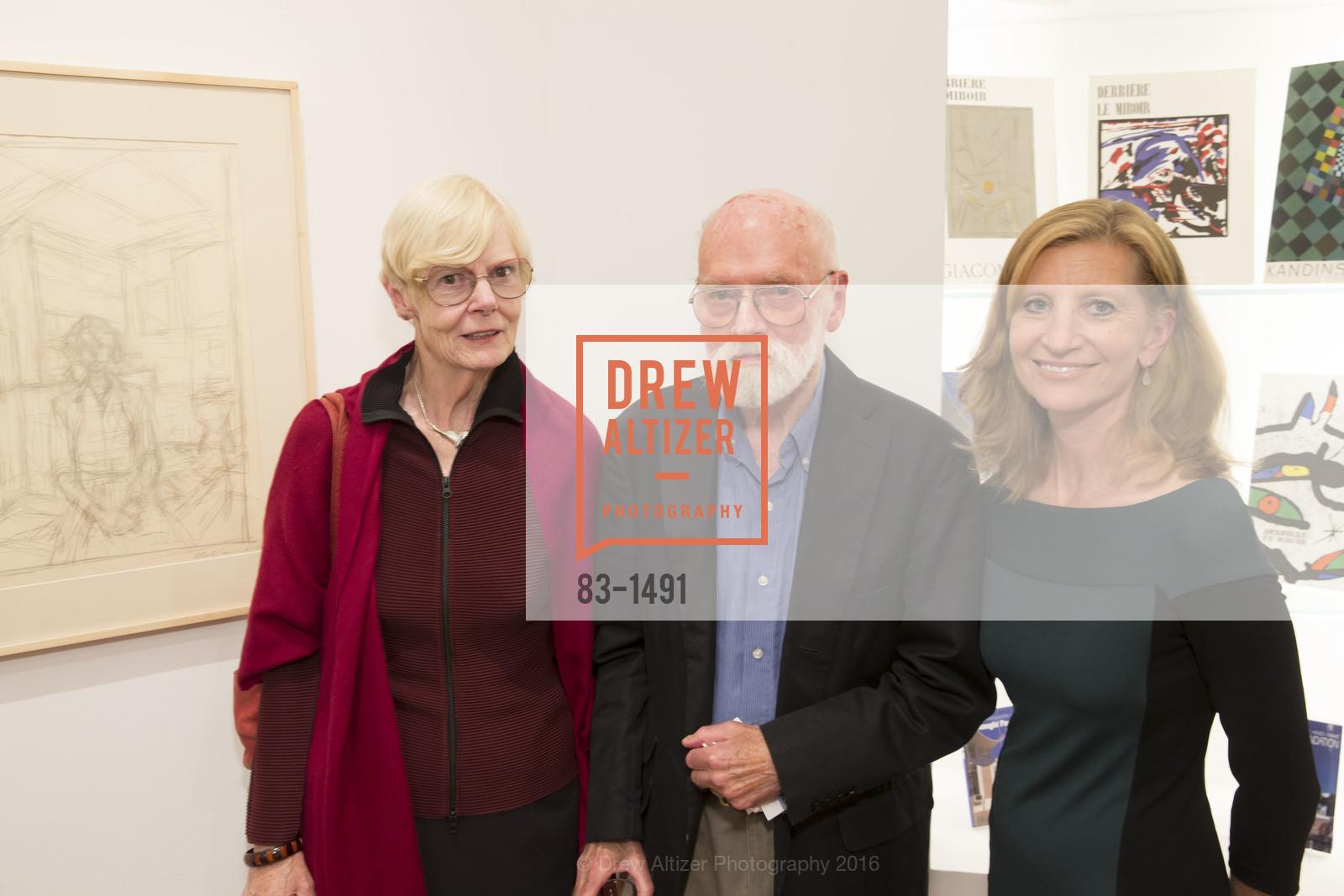 Whitney Chadwick, Robert Bechtle, Laura Nagle, Photo #83-1491