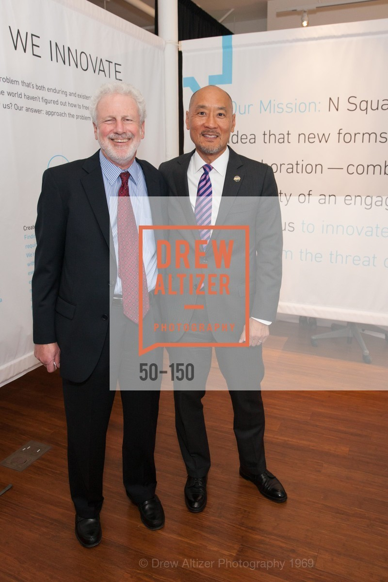 Philip Taubman, Philip Yun, Ploughshares Fund Presenting CHAIN REACTION 2015, The Open Square at Futures Without Violence. 100 Montgomery Street, June 7th, 2015