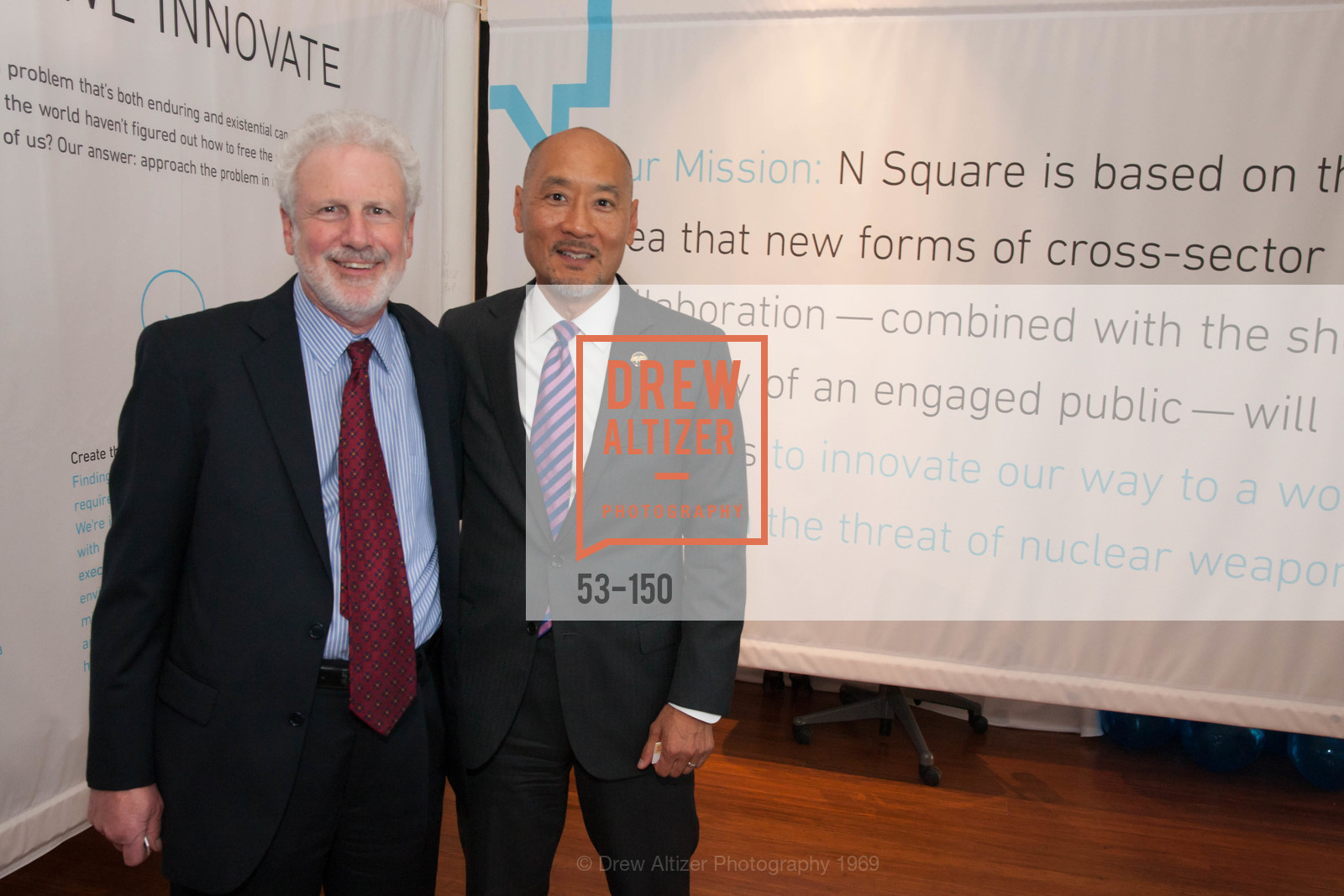 Philip Taubman, Philip Yun, Ploughshares Fund Presenting CHAIN REACTION 2015, The Open Square at Futures Without Violence. 100 Montgomery Street, June 7th, 2015,Drew Altizer, Drew Altizer Photography, full-service agency, private events, San Francisco photographer, photographer california