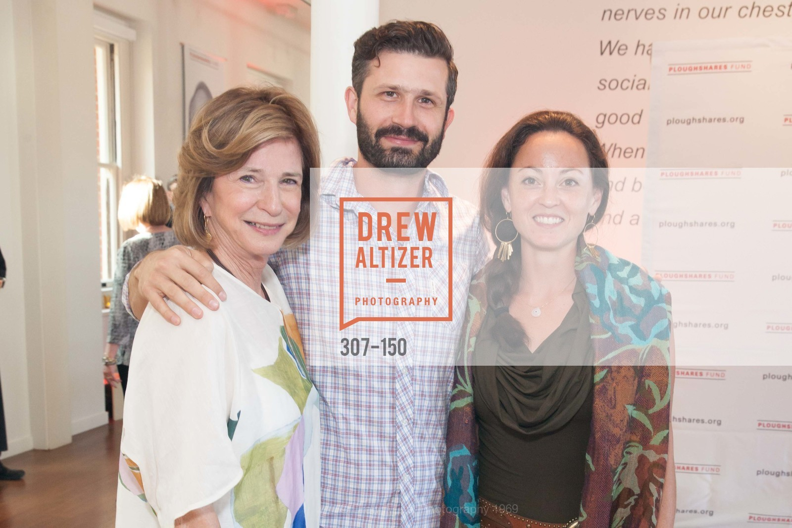Mary Lloyd Estrin, Jesse Estrin, Adrienne Chow, Ploughshares Fund Presenting CHAIN REACTION 2015, The Open Square at Futures Without Violence. 100 Montgomery Street, June 7th, 2015,Drew Altizer, Drew Altizer Photography, full-service agency, private events, San Francisco photographer, photographer california