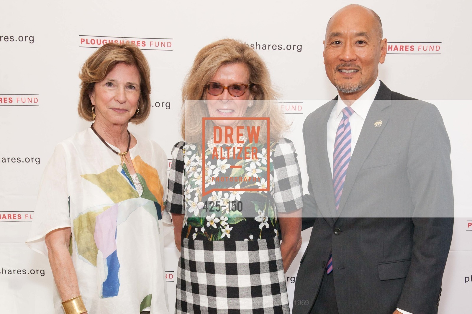 Mary Lloyd Estrin, Lucinda Watson, Philip Yun, Ploughshares Fund Presenting CHAIN REACTION 2015, The Open Square at Futures Without Violence. 100 Montgomery Street, June 7th, 2015,Drew Altizer, Drew Altizer Photography, full-service agency, private events, San Francisco photographer, photographer california