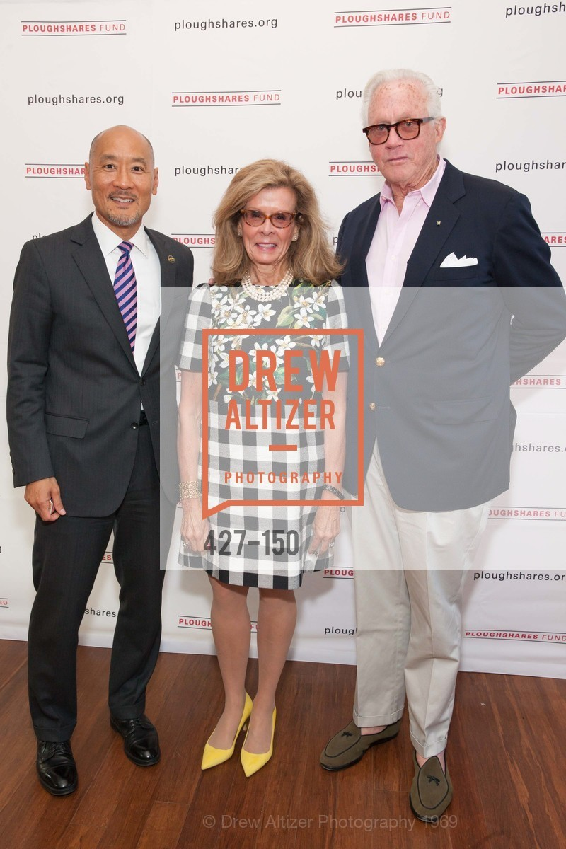 Philip Yun, Lucinda Watson, Ted Bell, Ploughshares Fund Presenting CHAIN REACTION 2015, The Open Square at Futures Without Violence. 100 Montgomery Street, June 7th, 2015,Drew Altizer, Drew Altizer Photography, full-service agency, private events, San Francisco photographer, photographer california