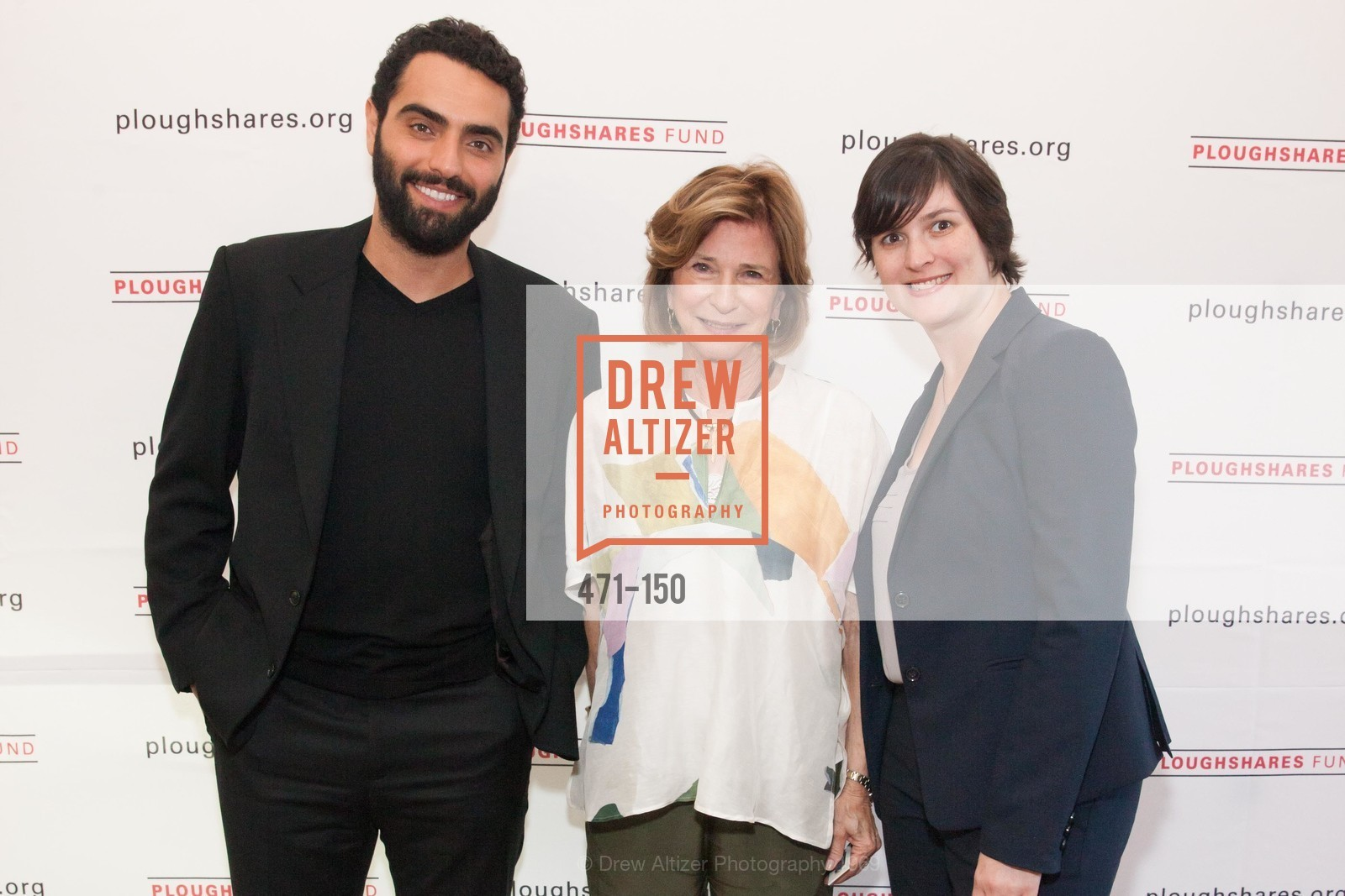 Farshad Farahat, Mary Lloyd Estrin, Sandra Fluke, Ploughshares Fund Presenting CHAIN REACTION 2015, The Open Square at Futures Without Violence. 100 Montgomery Street, June 7th, 2015,Drew Altizer, Drew Altizer Photography, full-service agency, private events, San Francisco photographer, photographer california