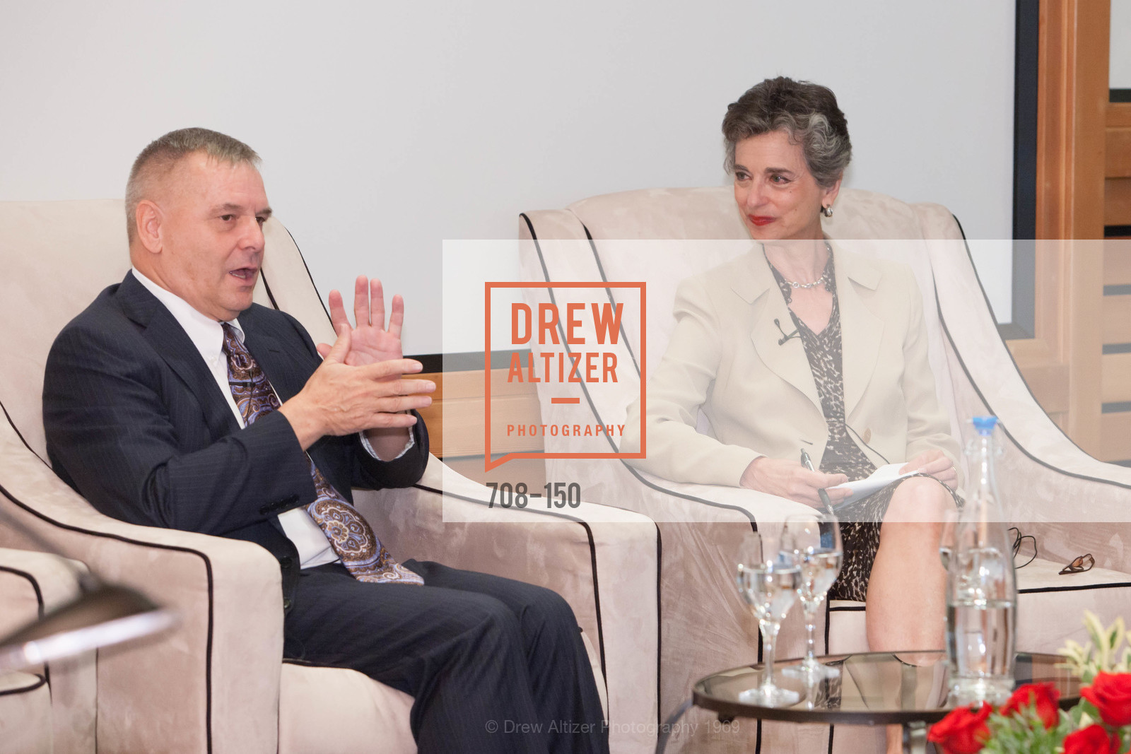 General James Cartwright, Barbara Slavin, Ploughshares Fund Presenting CHAIN REACTION 2015, The Open Square at Futures Without Violence. 100 Montgomery Street, June 7th, 2015,Drew Altizer, Drew Altizer Photography, full-service agency, private events, San Francisco photographer, photographer california