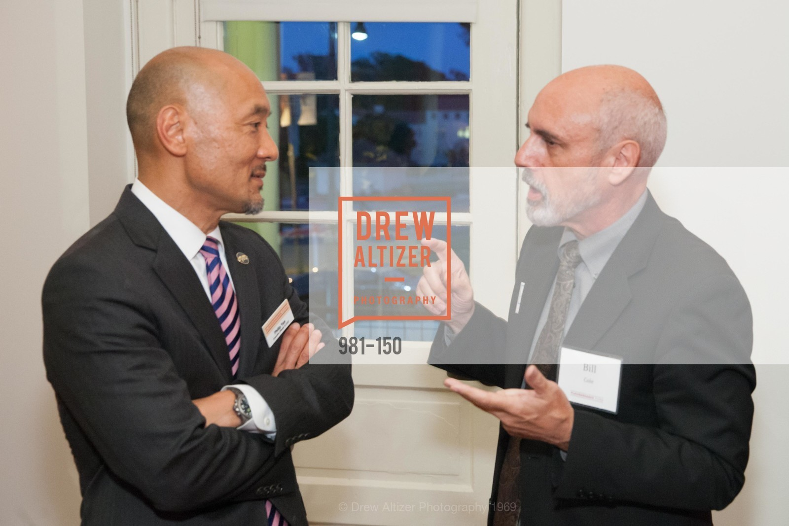Philip Yun, Bill Cole, Ploughshares Fund Presenting CHAIN REACTION 2015, The Open Square at Futures Without Violence. 100 Montgomery Street, June 7th, 2015,Drew Altizer, Drew Altizer Photography, full-service agency, private events, San Francisco photographer, photographer california