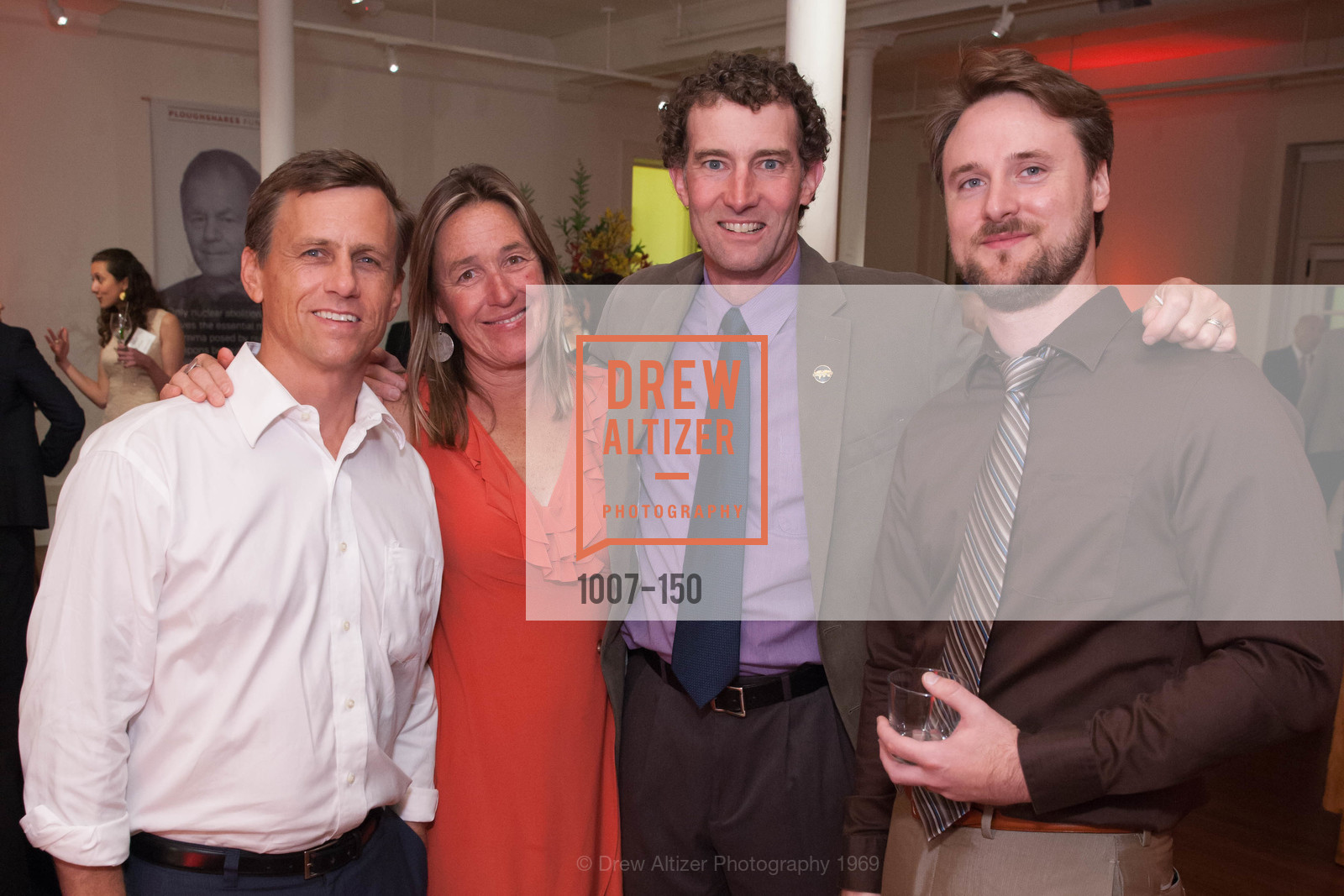 Van Cornwell, Elise Holland, Paul Carroll, Max Breakwell, Ploughshares Fund Presenting CHAIN REACTION 2015, The Open Square at Futures Without Violence. 100 Montgomery Street, June 7th, 2015,Drew Altizer, Drew Altizer Photography, full-service agency, private events, San Francisco photographer, photographer california