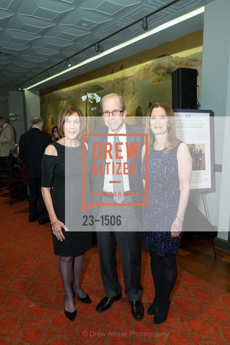 Sheila Gordon, Michael Krasny, Leslie Krasny, Photo #23-1506