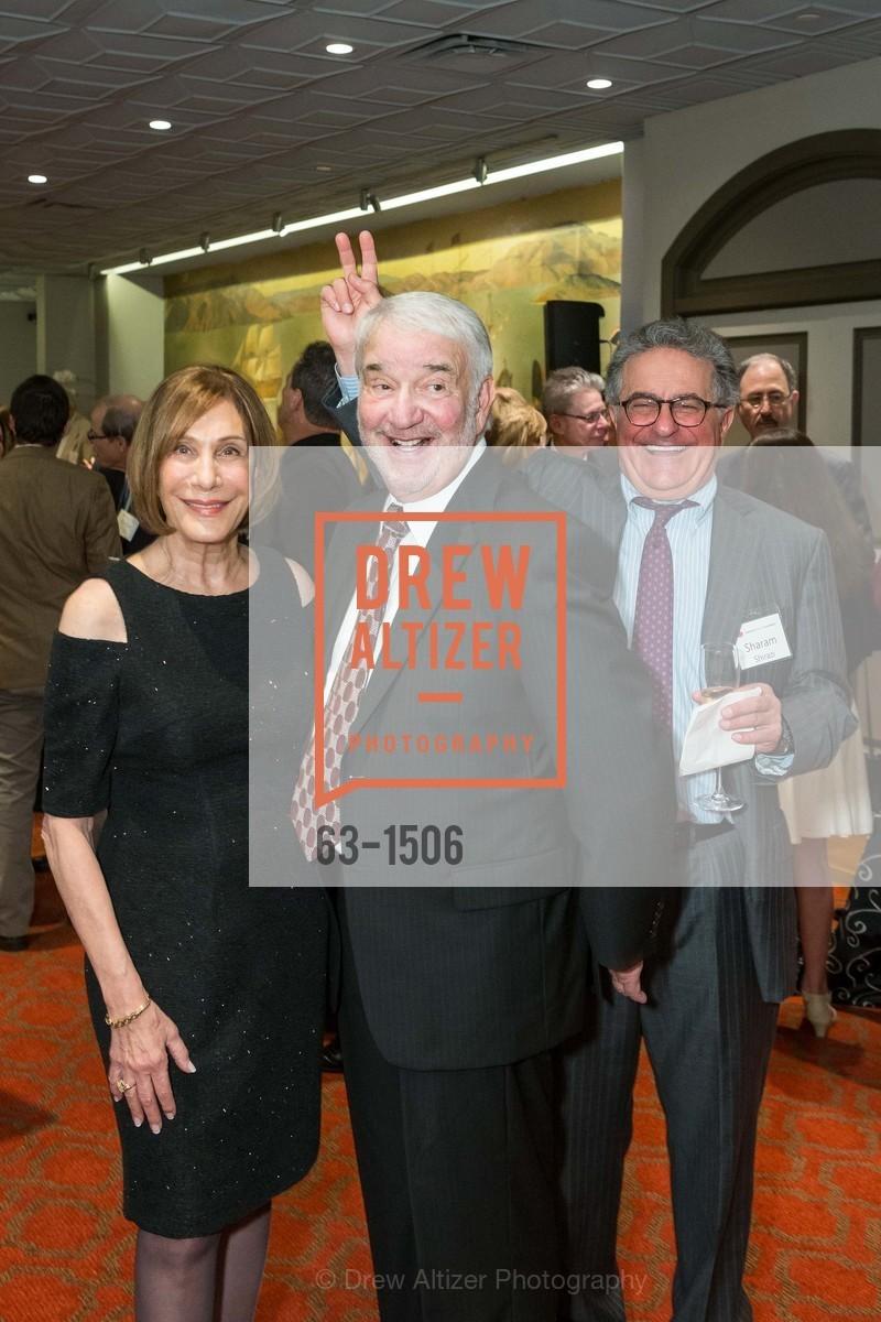Sheila Gordon, Alan Gordon, Sharam Shirazi, Photo #63-1506