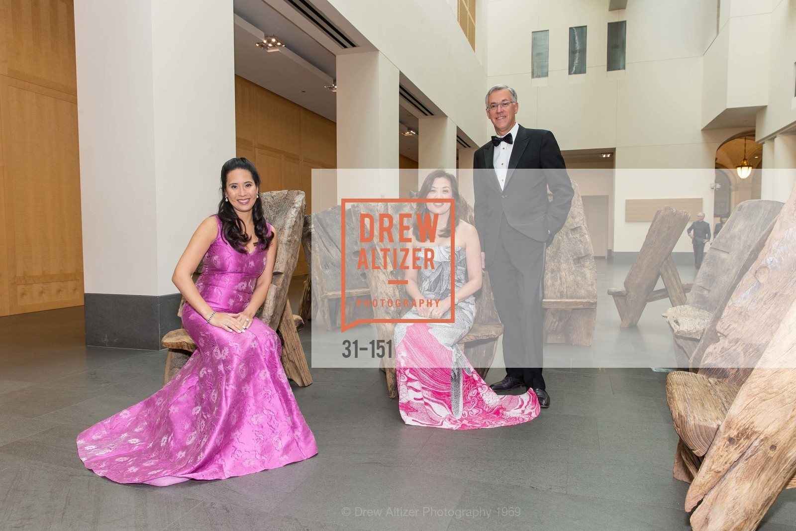 Lorna Ho Randlett, Sung Jin Ingriselli, Frank Ingriselli, Asian Art Museum 28 Chinese Opening Night Gala, Asian Art Museum. 200 Larkin St, June 2nd, 2015,Drew Altizer, Drew Altizer Photography, full-service event agency, private events, San Francisco photographer, photographer California