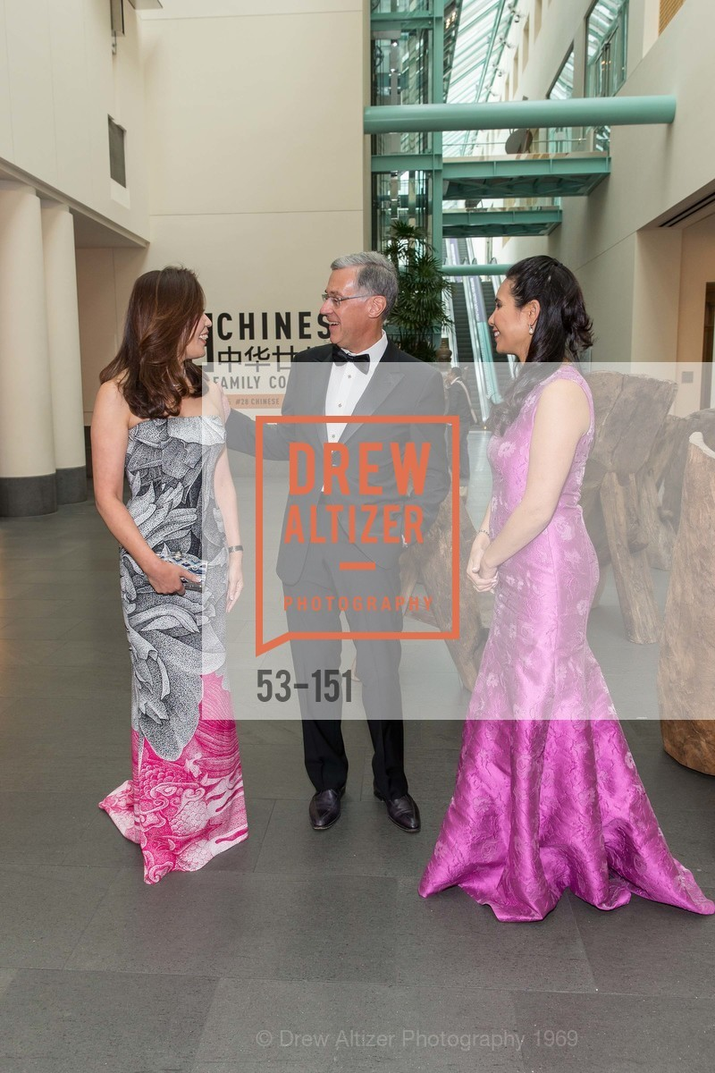 Sung Jin Ingriselli, Frank Ingriselli, Lorna Ho Randlett, Asian Art Museum 28 Chinese Opening Night Gala, Asian Art Museum. 200 Larkin St, June 2nd, 2015,Drew Altizer, Drew Altizer Photography, full-service agency, private events, San Francisco photographer, photographer california