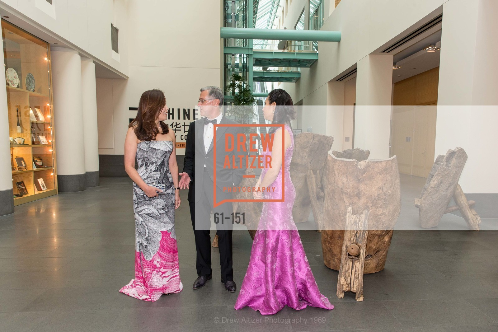 Sung Jin Ingriselli, Frank Ingriselli, Lorna Ho Randlett, Asian Art Museum 28 Chinese Opening Night Gala, Asian Art Museum. 200 Larkin St, June 2nd, 2015,Drew Altizer, Drew Altizer Photography, full-service event agency, private events, San Francisco photographer, photographer California