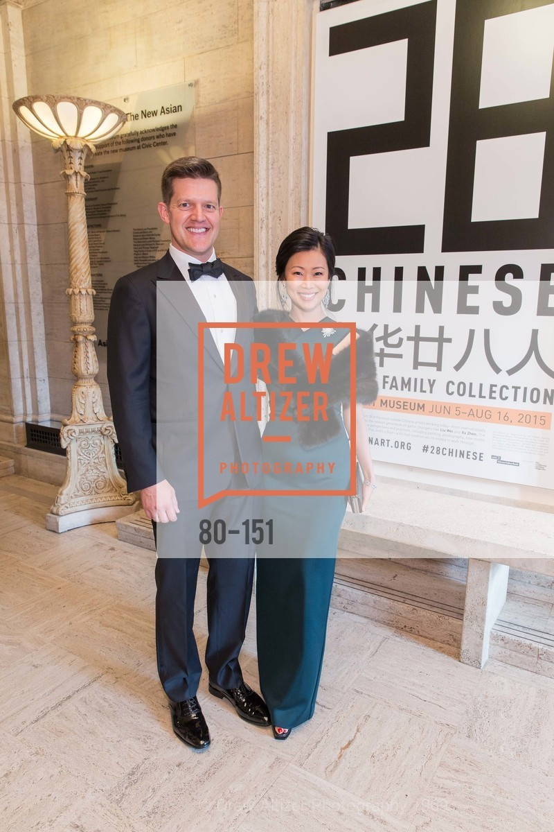 Roelof Botha, Huifen Chan, Asian Art Museum 28 Chinese Opening Night Gala, Asian Art Museum. 200 Larkin St, June 2nd, 2015,Drew Altizer, Drew Altizer Photography, full-service agency, private events, San Francisco photographer, photographer california