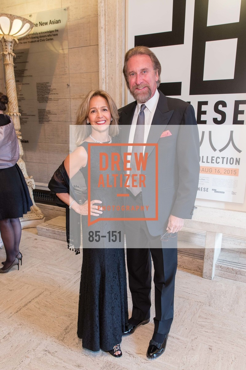 Elizabeth van Dyk, Bob van Dyk, Asian Art Museum 28 Chinese Opening Night Gala, Asian Art Museum. 200 Larkin St, June 2nd, 2015,Drew Altizer, Drew Altizer Photography, full-service agency, private events, San Francisco photographer, photographer california