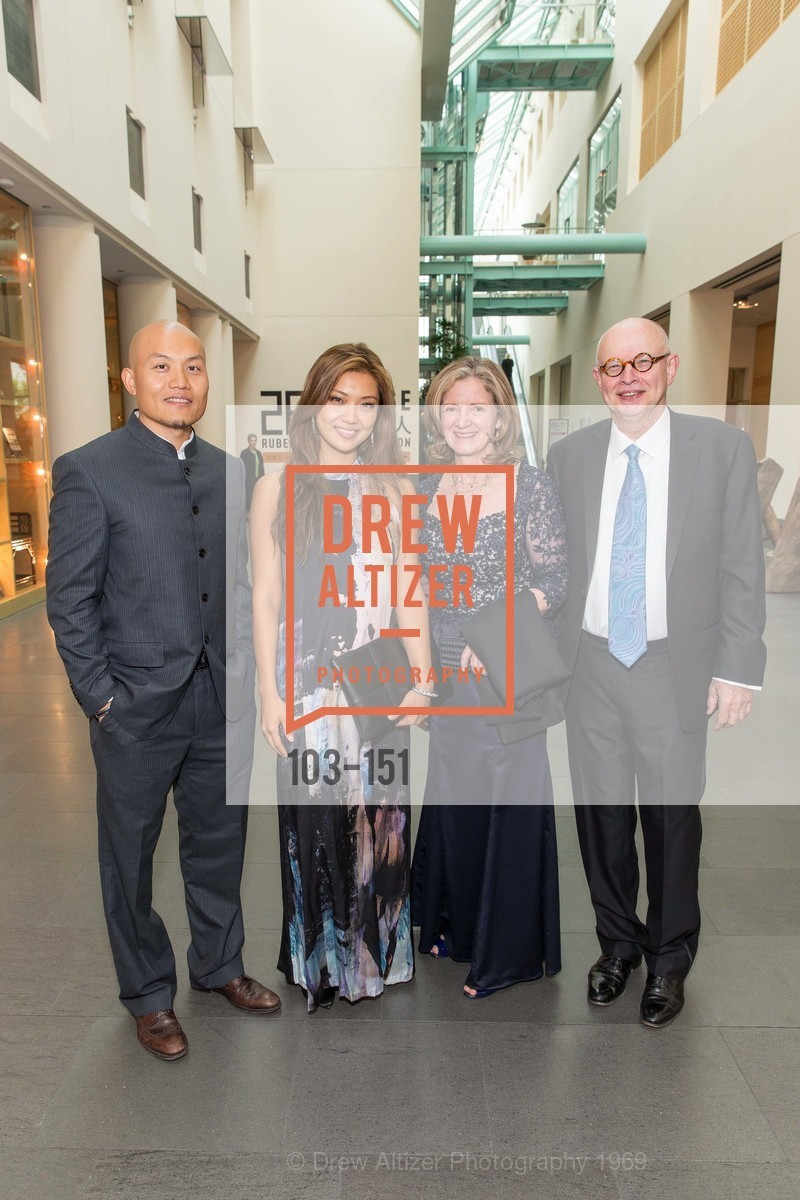 Zheng Huang, Angie Zhai, Ruth Wilcox, Ken Wilcox, Asian Art Museum 28 Chinese Opening Night Gala, Asian Art Museum. 200 Larkin St, June 2nd, 2015,Drew Altizer, Drew Altizer Photography, full-service agency, private events, San Francisco photographer, photographer california