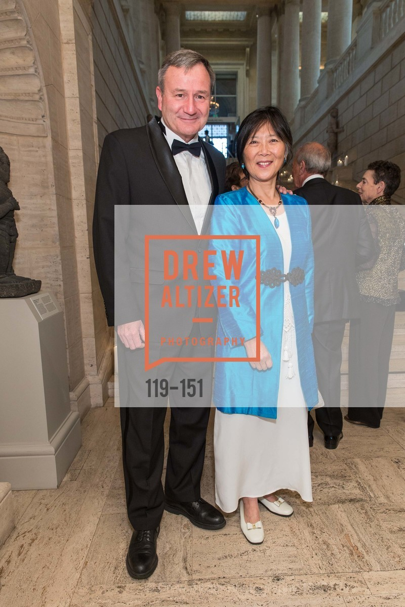 Karl Eikenberry, Ching Eikenberry, Asian Art Museum 28 Chinese Opening Night Gala, Asian Art Museum. 200 Larkin St, June 2nd, 2015,Drew Altizer, Drew Altizer Photography, full-service agency, private events, San Francisco photographer, photographer california