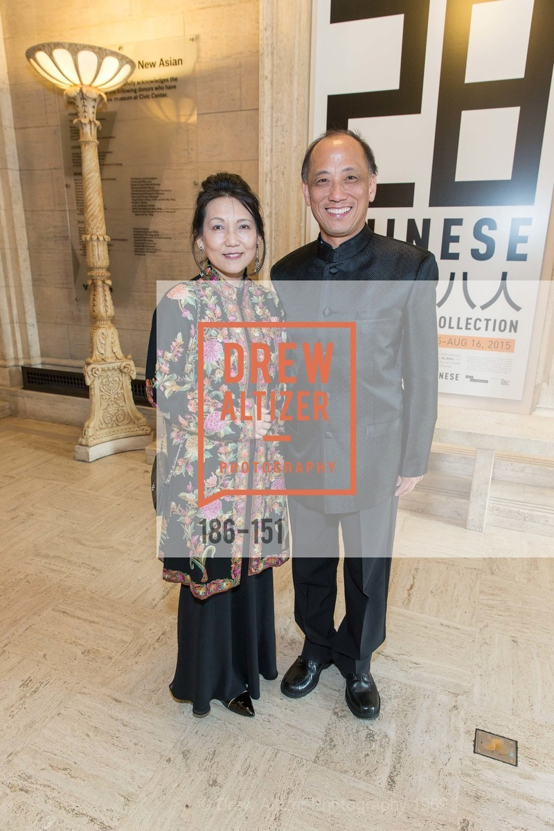 Adele Chen, Pehong Chen, Asian Art Museum 28 Chinese Opening Night Gala, Asian Art Museum. 200 Larkin St, June 2nd, 2015,Drew Altizer, Drew Altizer Photography, full-service agency, private events, San Francisco photographer, photographer california
