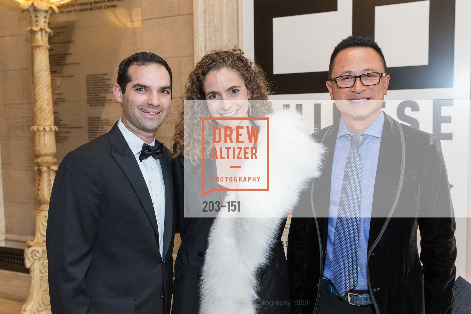 Justin Betrock, Monica Savini, Raymund Chang, Asian Art Museum 28 Chinese Opening Night Gala, Asian Art Museum. 200 Larkin St, June 2nd, 2015,Drew Altizer, Drew Altizer Photography, full-service agency, private events, San Francisco photographer, photographer california