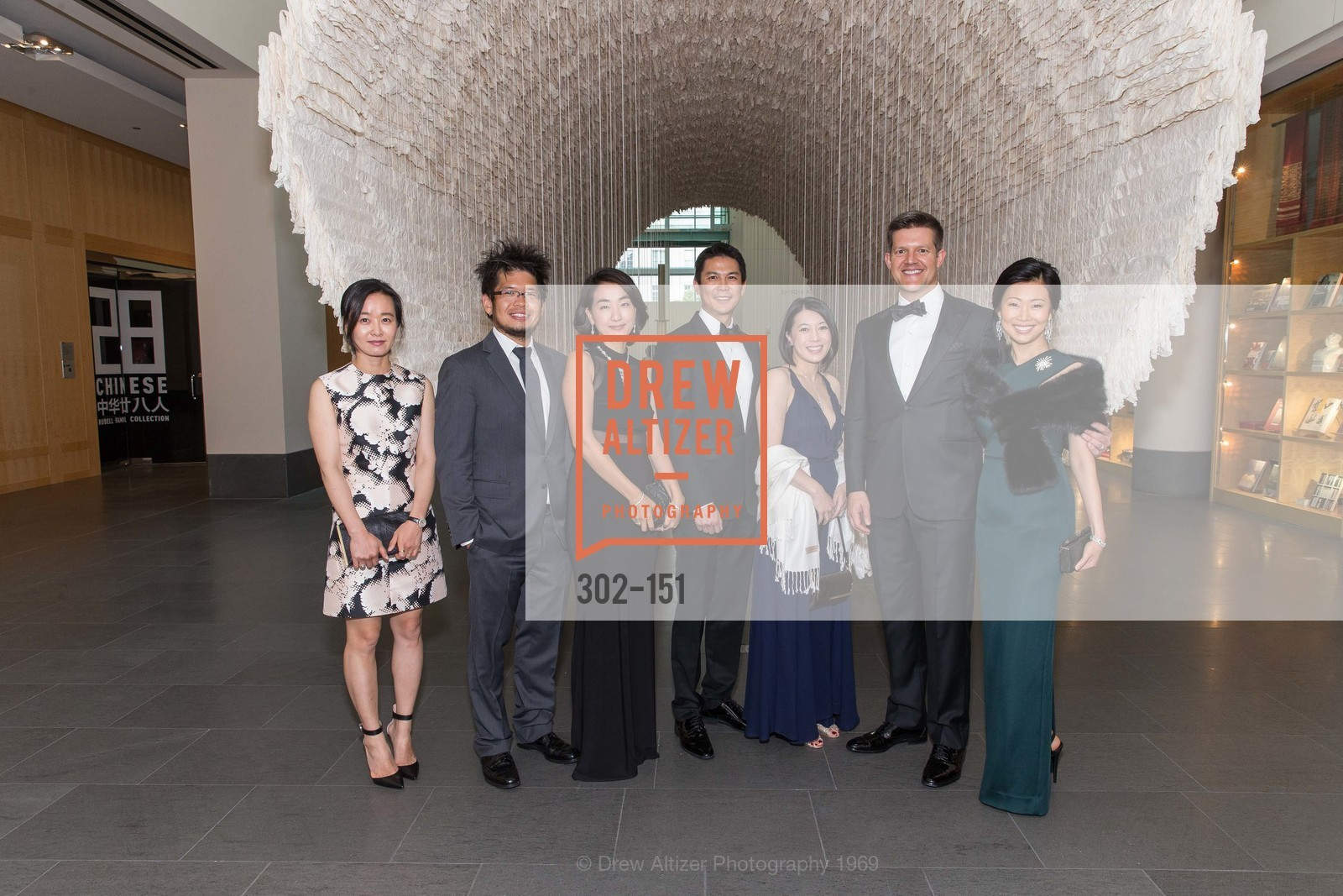 Songyee Yoon, Steve Chen, Jamie Chen, Albert Cheng, Cheryl Cheng, Roelof Botha, Huifen Chan, Asian Art Museum 28 Chinese Opening Night Gala, Asian Art Museum. 200 Larkin St, June 2nd, 2015,Drew Altizer, Drew Altizer Photography, full-service agency, private events, San Francisco photographer, photographer california