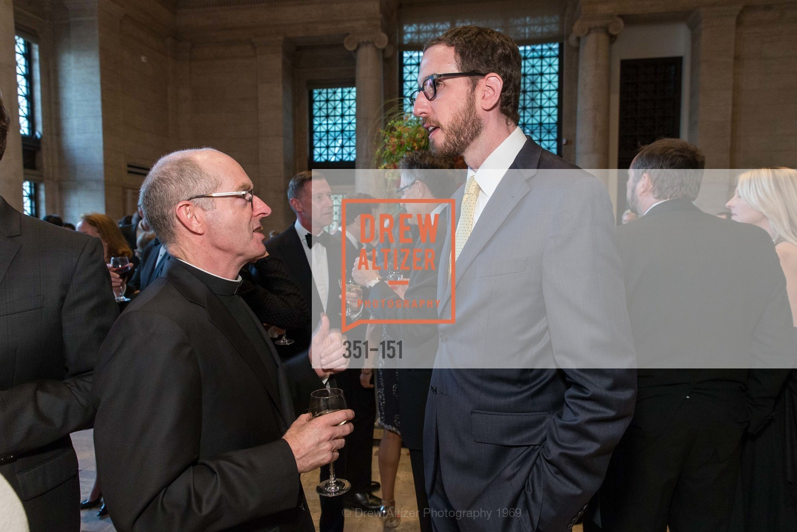 Father Paul Fitzgerald, Supervisor Scott Wiener, Asian Art Museum 28 Chinese Opening Night Gala, Asian Art Museum. 200 Larkin St, June 2nd, 2015,Drew Altizer, Drew Altizer Photography, full-service agency, private events, San Francisco photographer, photographer california