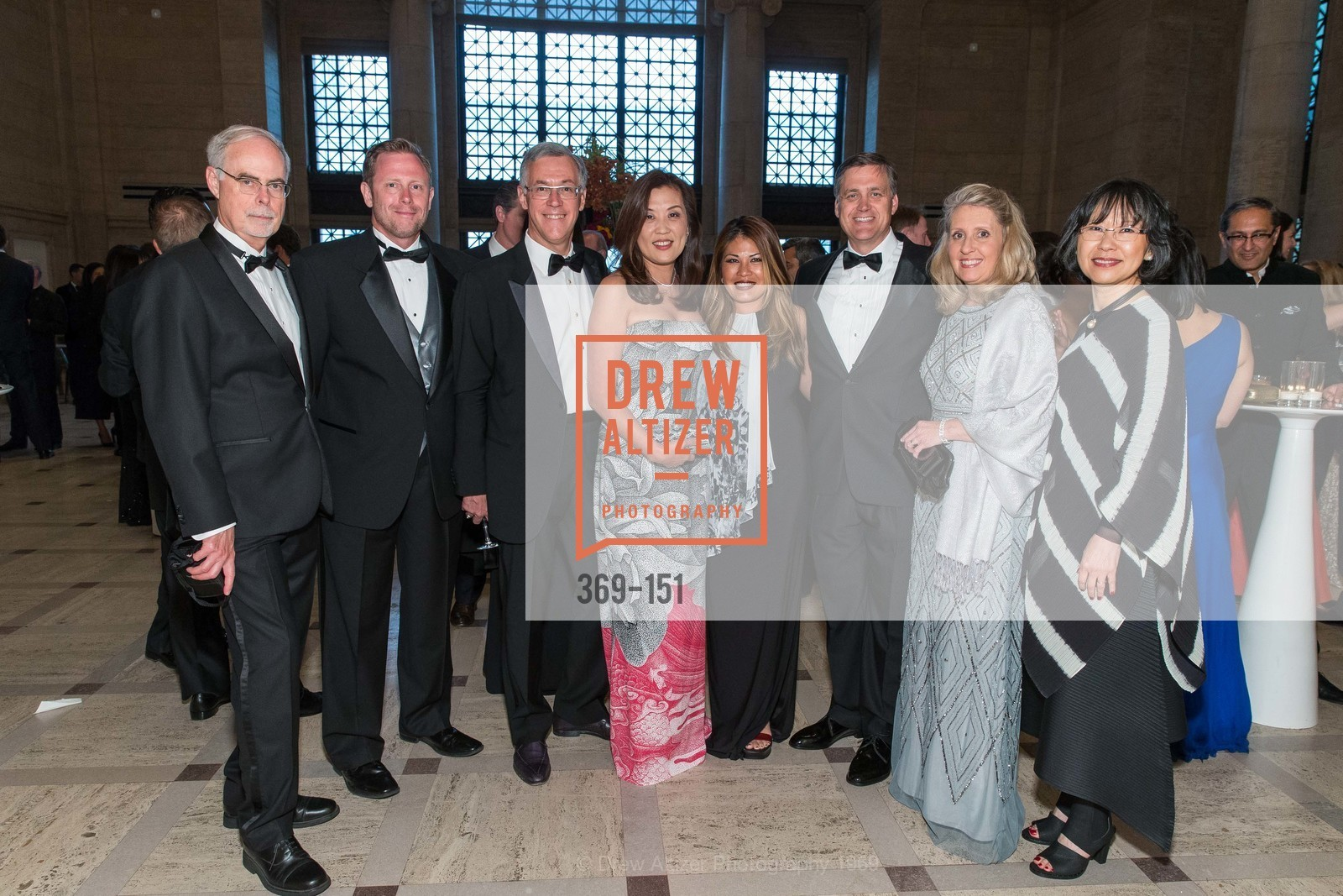 Greg Oldham, Clark Moore, Frank Ingriselli, Sung Jin Ingriselli, Lynn Moore, Michael Peterson, Shelley Peterson, Bai Park, Asian Art Museum 28 Chinese Opening Night Gala, Asian Art Museum. 200 Larkin St, June 2nd, 2015,Drew Altizer, Drew Altizer Photography, full-service agency, private events, San Francisco photographer, photographer california