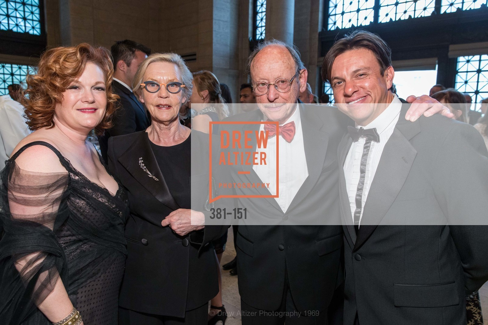 Jennifer Raiser, Barbro Osher, Bernard Osher, Sidney Erthal, Asian Art Museum 28 Chinese Opening Night Gala, Asian Art Museum. 200 Larkin St, June 2nd, 2015,Drew Altizer, Drew Altizer Photography, full-service agency, private events, San Francisco photographer, photographer california