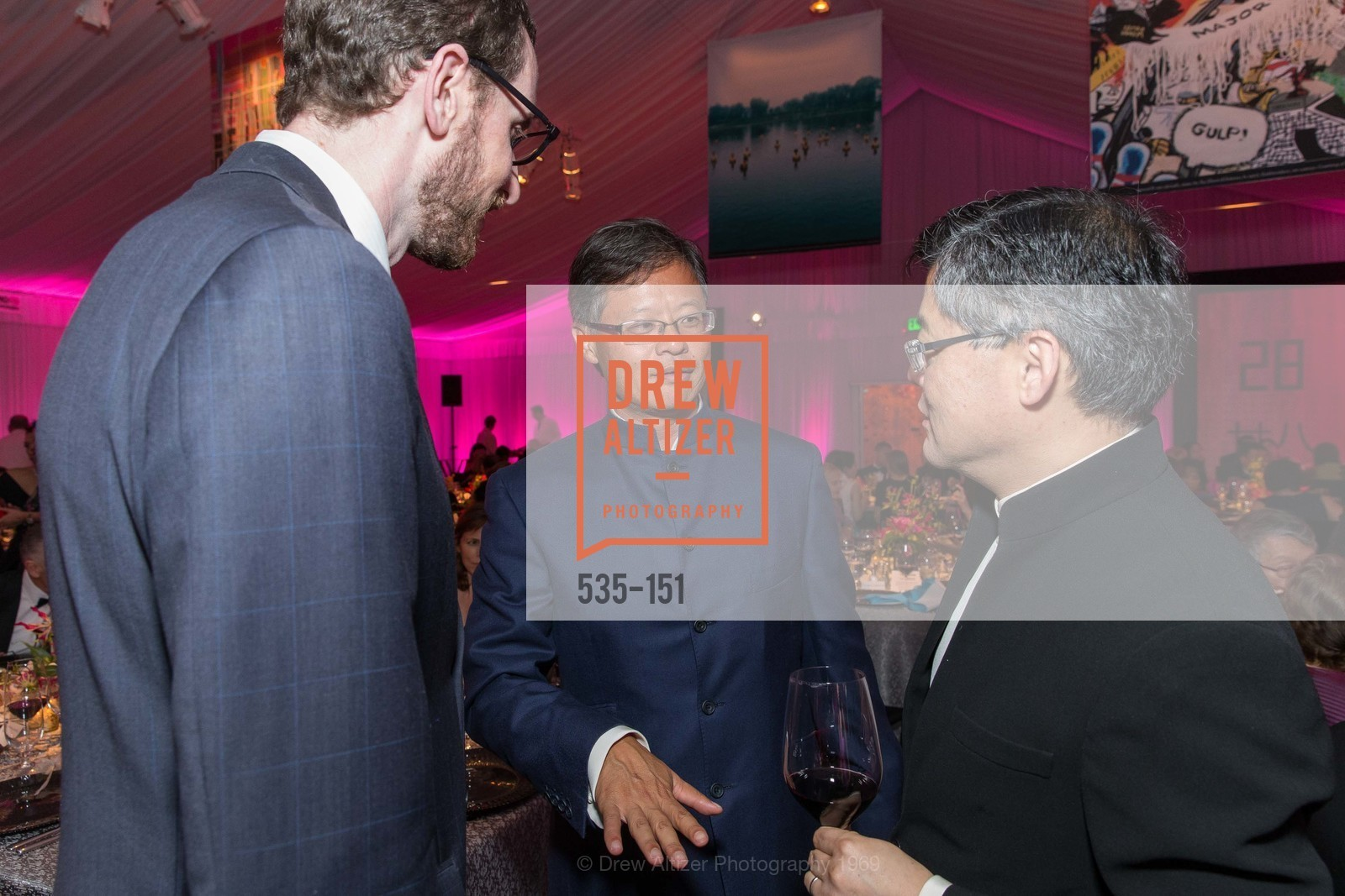 Supervisor Scott Wiener, Jerry Yang, Jay Xu, Asian Art Museum 28 Chinese Opening Night Gala, Asian Art Museum. 200 Larkin St, June 2nd, 2015,Drew Altizer, Drew Altizer Photography, full-service agency, private events, San Francisco photographer, photographer california