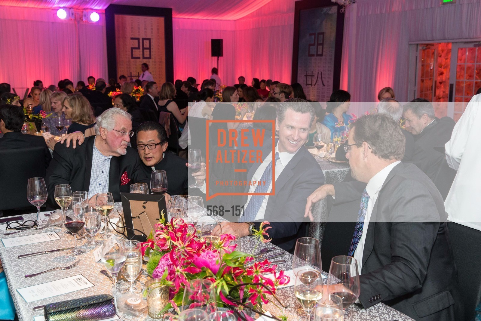 Joe Cotchett, Anton Qiu, Gavin Newsom, Asian Art Museum 28 Chinese Opening Night Gala, Asian Art Museum. 200 Larkin St, June 2nd, 2015,Drew Altizer, Drew Altizer Photography, full-service agency, private events, San Francisco photographer, photographer california