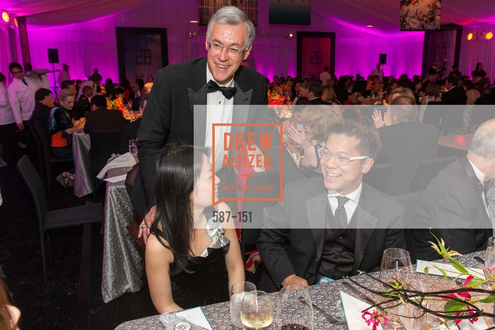 Kyongae Kim, Frank Ingriselli, Albert Chang, Asian Art Museum 28 Chinese Opening Night Gala, Asian Art Museum. 200 Larkin St, June 2nd, 2015,Drew Altizer, Drew Altizer Photography, full-service agency, private events, San Francisco photographer, photographer california