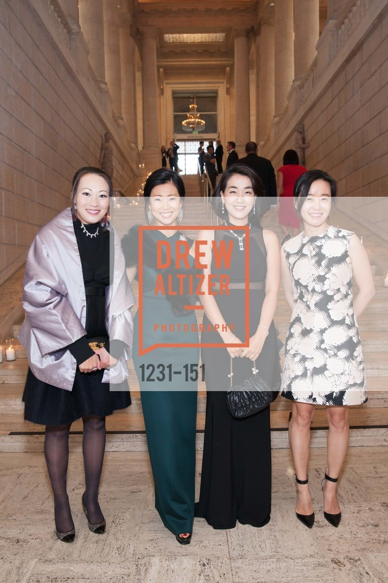 Helina Au, Huifen Chan, Jamie Chen, Songyee Yoon, Asian Art Museum 28 Chinese Opening Night Gala, Asian Art Museum. 200 Larkin St, June 2nd, 2015,Drew Altizer, Drew Altizer Photography, full-service agency, private events, San Francisco photographer, photographer california