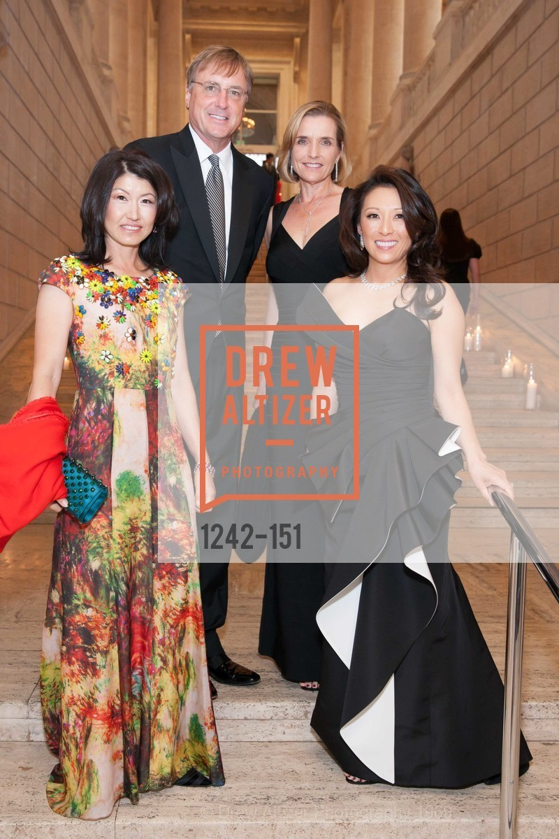 Akiko Yamazaki, Kirk Bostrom, Sue Bostrom, Cori Bates, Asian Art Museum 28 Chinese Opening Night Gala, Asian Art Museum. 200 Larkin St, June 2nd, 2015,Drew Altizer, Drew Altizer Photography, full-service agency, private events, San Francisco photographer, photographer california