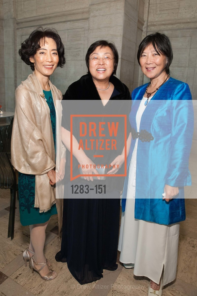 Christina Choi, Maria Kahng, Ching Eikenberry, Asian Art Museum 28 Chinese Opening Night Gala, Asian Art Museum. 200 Larkin St, June 2nd, 2015,Drew Altizer, Drew Altizer Photography, full-service agency, private events, San Francisco photographer, photographer california