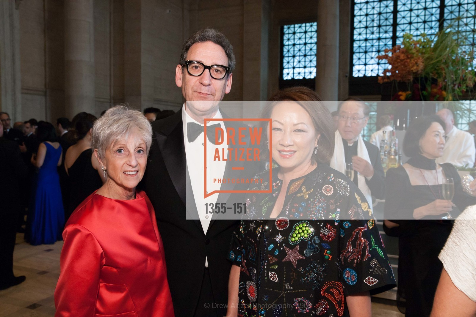 Nancy Livingston, Fred Levin, Eliza Cash, Asian Art Museum 28 Chinese Opening Night Gala, Asian Art Museum. 200 Larkin St, June 2nd, 2015,Drew Altizer, Drew Altizer Photography, full-service agency, private events, San Francisco photographer, photographer california