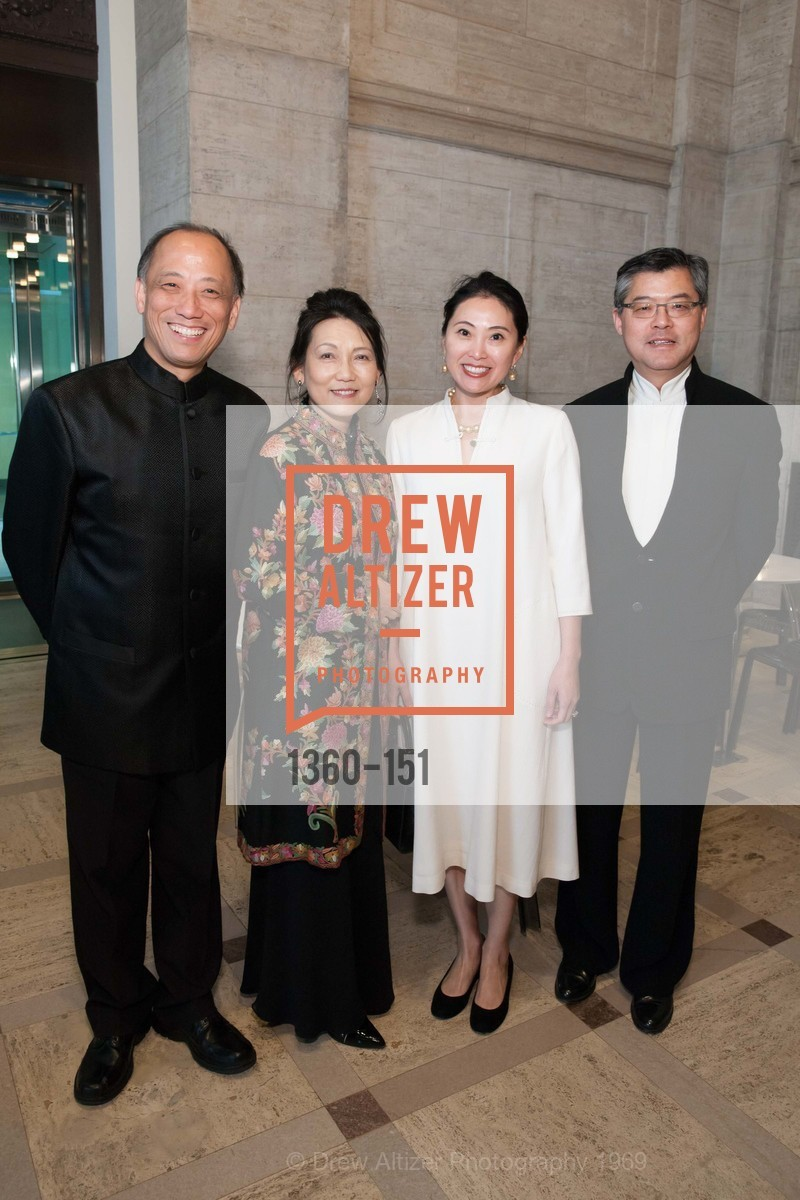 Pehong Chen, Adele Chen, Cindy Li, Jay Xu, Asian Art Museum 28 Chinese Opening Night Gala, Asian Art Museum. 200 Larkin St, June 2nd, 2015,Drew Altizer, Drew Altizer Photography, full-service agency, private events, San Francisco photographer, photographer california