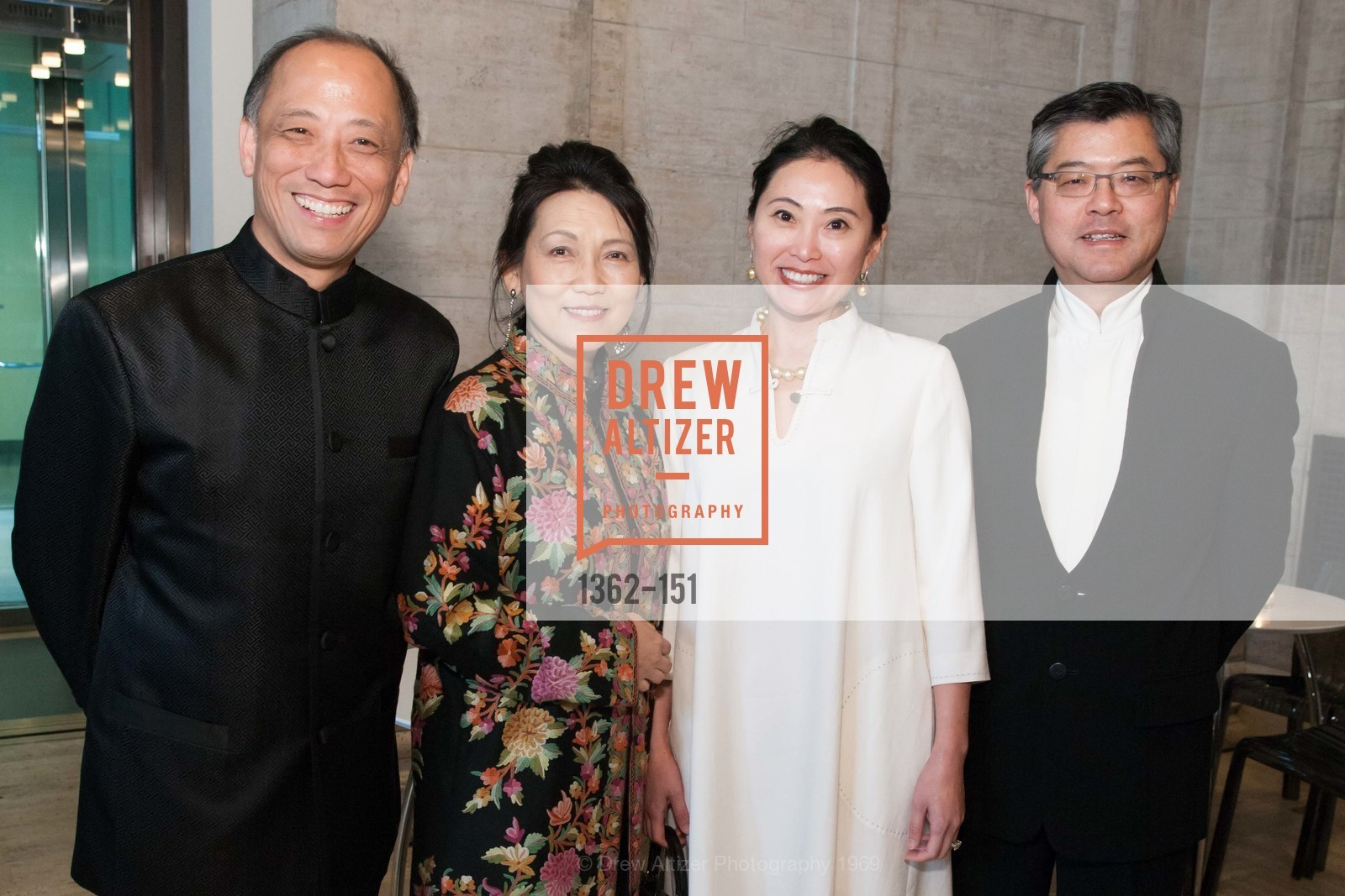 Pehong Chen, Adele Chen, Cindy Li, Jay Xu, Asian Art Museum 28 Chinese Opening Night Gala, Asian Art Museum. 200 Larkin St, June 2nd, 2015,Drew Altizer, Drew Altizer Photography, full-service event agency, private events, San Francisco photographer, photographer California