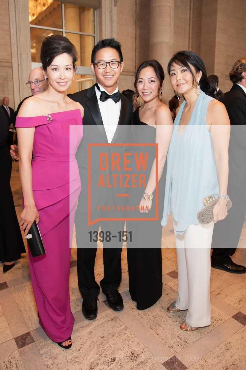 Lydia Choi, Ben Choi, Christine Kim, Susan Kim, Asian Art Museum 28 Chinese Opening Night Gala, Asian Art Museum. 200 Larkin St, June 2nd, 2015,Drew Altizer, Drew Altizer Photography, full-service agency, private events, San Francisco photographer, photographer california