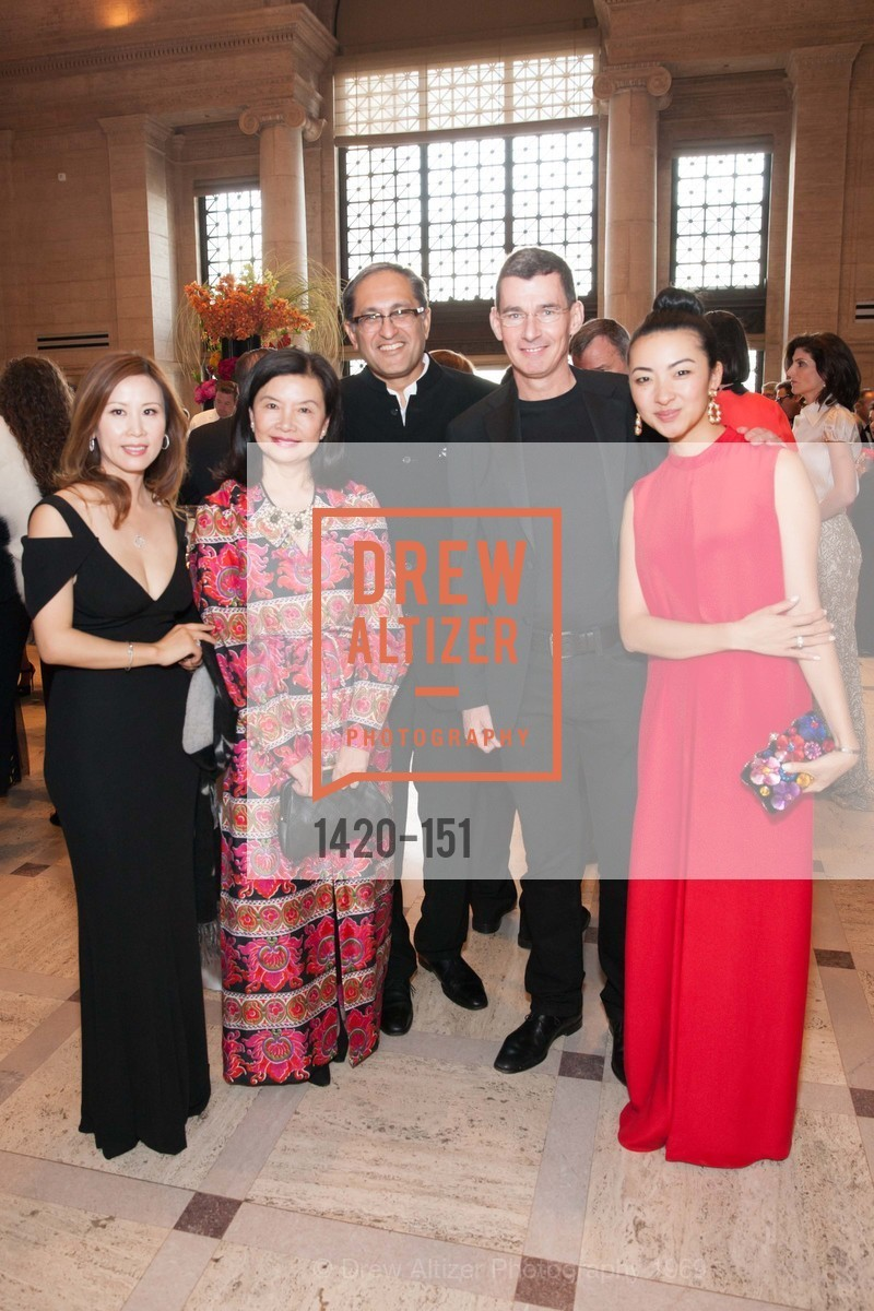 Julia Bergh, Jenny Ming, Harmit Singh, Chip Bergh, Kristin Ming, Asian Art Museum 28 Chinese Opening Night Gala, Asian Art Museum. 200 Larkin St, June 2nd, 2015,Drew Altizer, Drew Altizer Photography, full-service agency, private events, San Francisco photographer, photographer california
