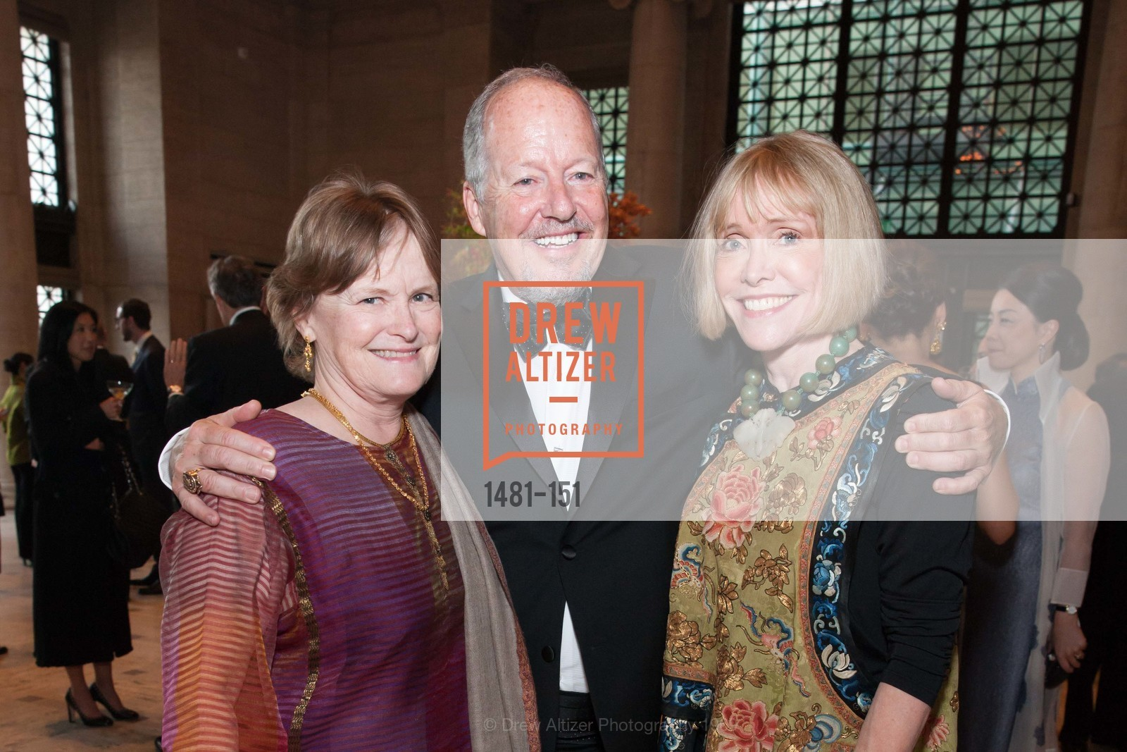 Mary Hunt, Rick Potts, Merrill Randall Sherwin, Asian Art Museum 28 Chinese Opening Night Gala, Asian Art Museum. 200 Larkin St, June 2nd, 2015,Drew Altizer, Drew Altizer Photography, full-service event agency, private events, San Francisco photographer, photographer California