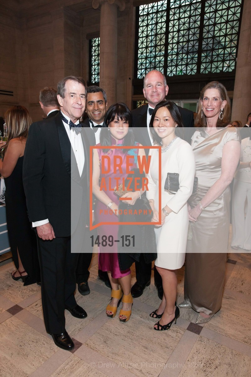 Loren Kieve, Ashwin Ranganathan, Claire Ngo, Tom Beischer, Lily Beischer, Anne Kieve, Asian Art Museum 28 Chinese Opening Night Gala, Asian Art Museum. 200 Larkin St, June 2nd, 2015,Drew Altizer, Drew Altizer Photography, full-service agency, private events, San Francisco photographer, photographer california