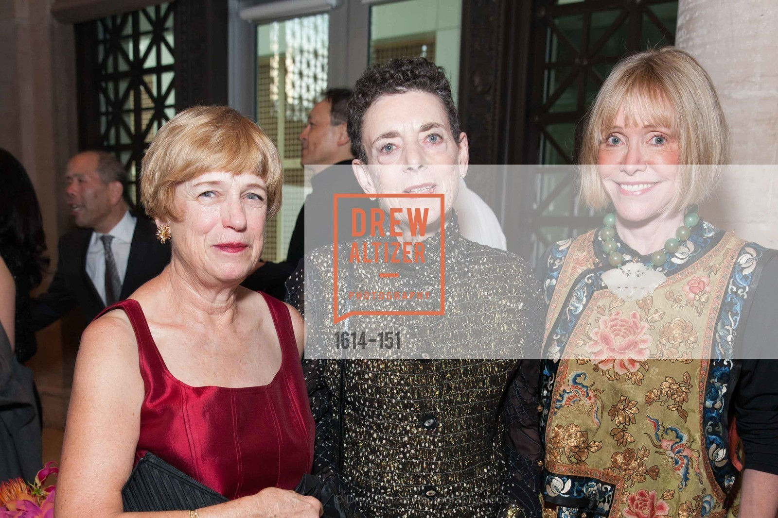 Anne Kahn, Patricia Berkowitz, Merrill Randall Sherwin, Asian Art Museum 28 Chinese Opening Night Gala, Asian Art Museum. 200 Larkin St, June 2nd, 2015,Drew Altizer, Drew Altizer Photography, full-service agency, private events, San Francisco photographer, photographer california