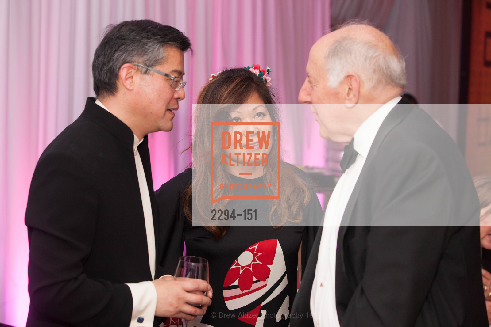 Jay Xu, Nanci Nishimura, Ronald George, Asian Art Museum 28 Chinese Opening Night Gala, Asian Art Museum. 200 Larkin St, June 2nd, 2015,Drew Altizer, Drew Altizer Photography, full-service agency, private events, San Francisco photographer, photographer california