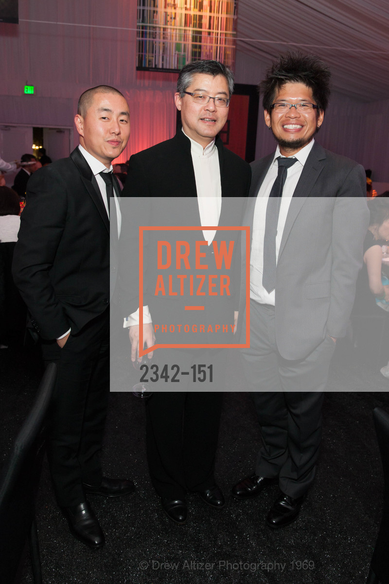Cory Lee, Jay Xu, Steve Chen, Asian Art Museum 28 Chinese Opening Night Gala, Asian Art Museum. 200 Larkin St, June 2nd, 2015