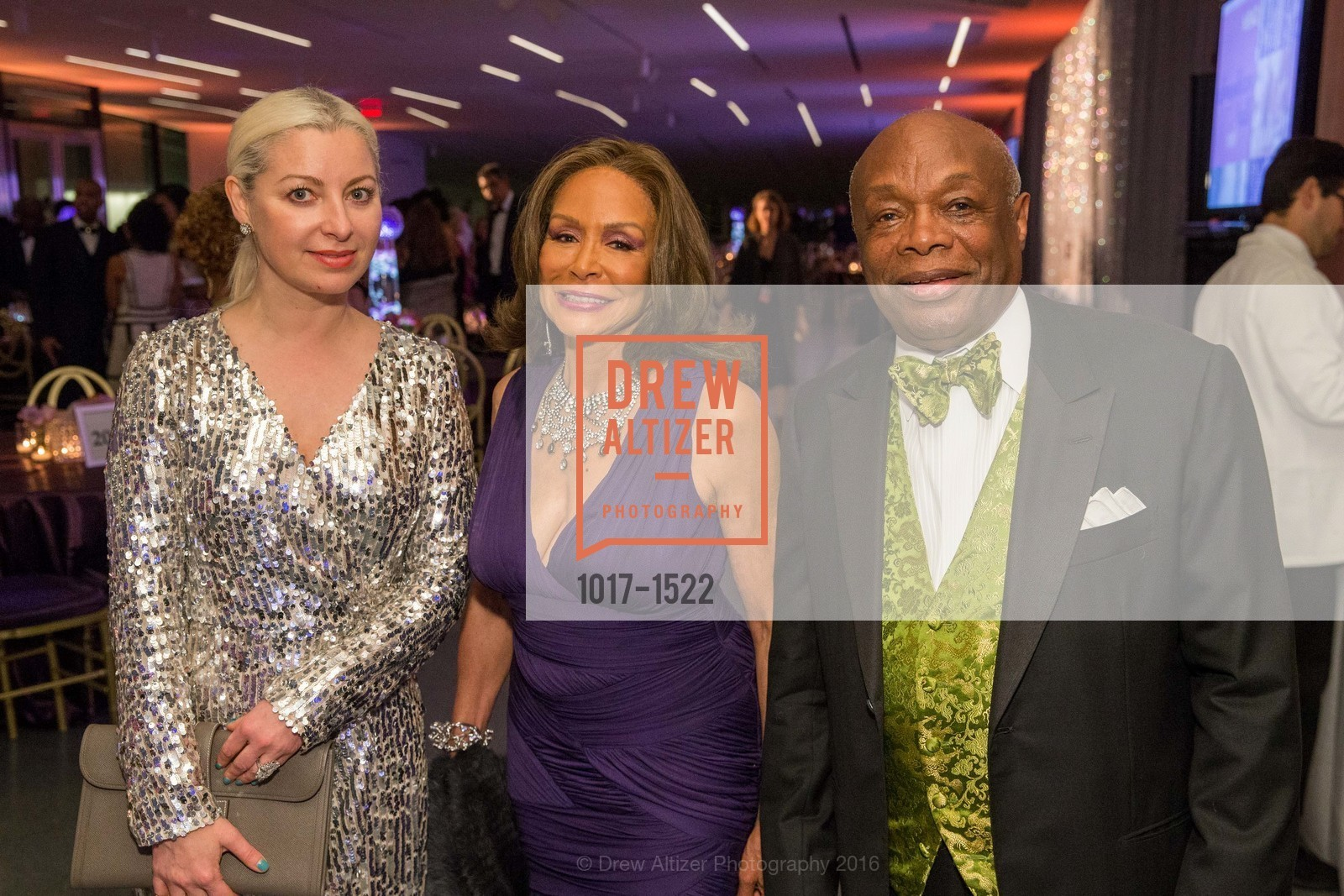 Sonya Molodetskaya, Freda Payne, Willie Brown, Photo #1017-1522