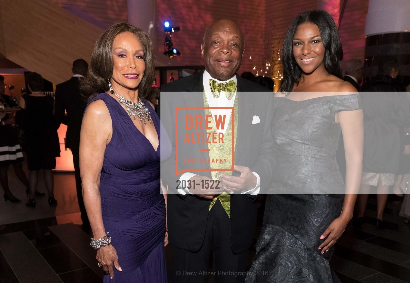 Freda Payne, Willie Brown, June Williams, Photo #2031-1522