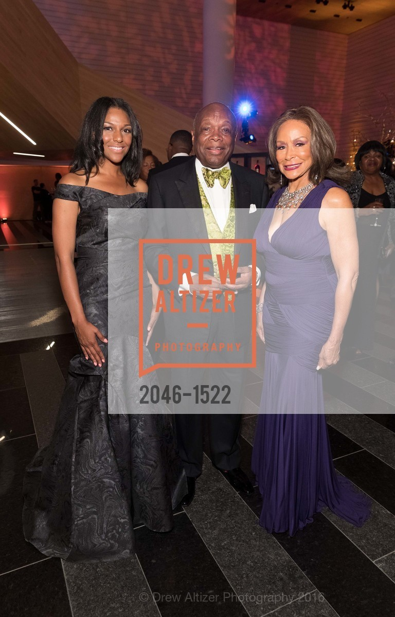 June Williams, Willie Brown, Freda Payne, Photo #2046-1522