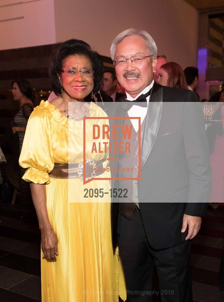 Belva Davis, Ed Lee, Photo #2095-1522